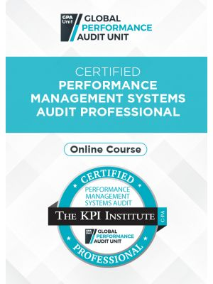 Certified Performance Management Systems Audit Professional