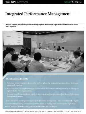 Integrated Performance Management