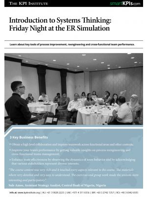 Introduction to Systems Thinking: Friday Night at the ER Simulation