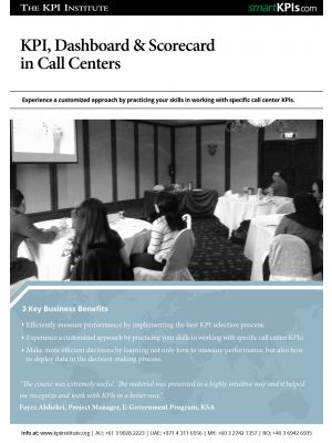 KPI, Dashboard & Scorecard for Call Centers