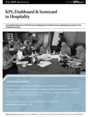 KPI, Dashboard & Scorecard for Hospitality