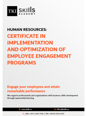 Certificate in Implementation and Optimization of Employee Engagement Programs