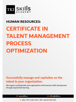 Certificate in Talent Management Process Optimization