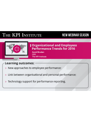 Organizational and Employee Performance Trends for 2016