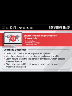 Performance Improvement Essentials (delivered in Spanish)