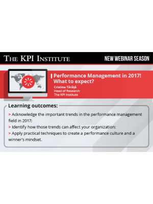 Performance Management in 2017: What to expect?