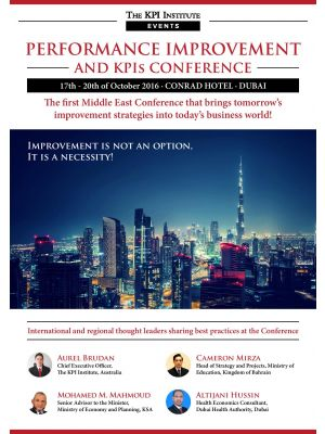 Performance Improvement and KPIs Conference Dubai
