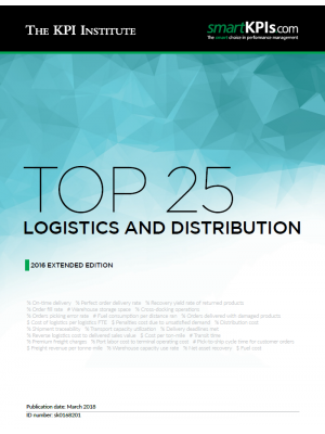 Top 25 Logistics Distribution - 2016 Extended Edition
