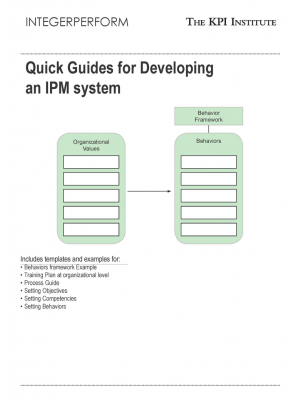 Quick Guides for Developing an IPM system