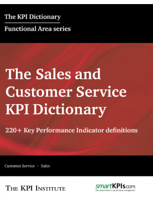 The Sales and Customer Service KPI Dictionary