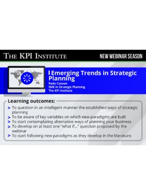 Emerging Trends in Strategic Planning
