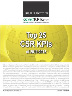 Top 25 CSR KPIs of 2011-2012
