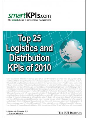 Top 25 Logistics and Distribution KPIs of 2010