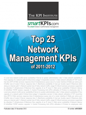 Top 25 Network Management KPIs of 2011-2012