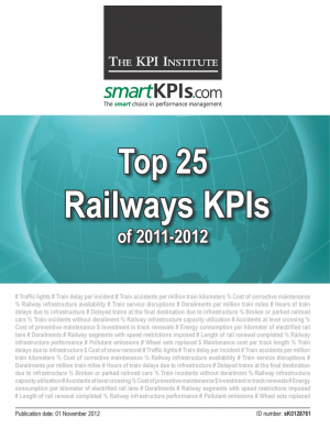 Top 25 Railways KPIs of 2011-2012