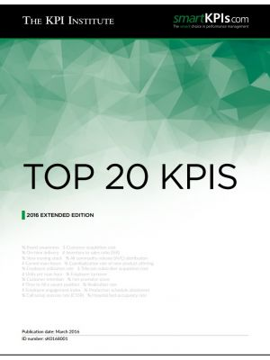 Top 20 KPIs - 2016 Extended Edition