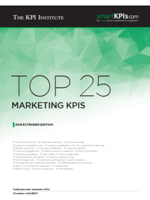 Top 25 Marketing KPIs - 2016 Extended Edition