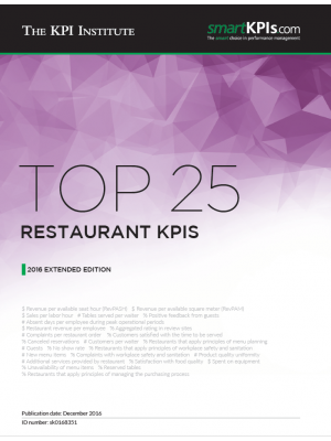 Top 25 Restaurant KPIs - 2016 Extended Edition