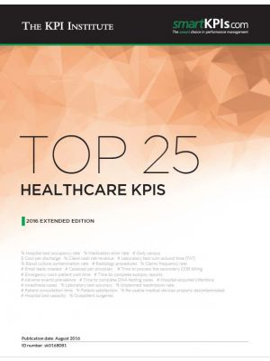 Top 25 Healthcare KPIs – 2016 Extended Edition