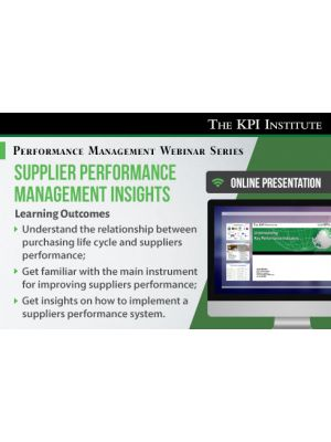 Supplier Performance Management Insights