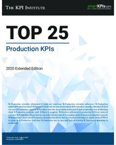 The Top 25 Production KPIs – 2020 Extended Edition