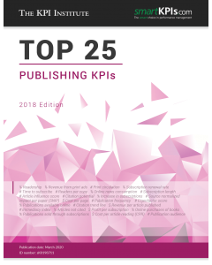 The Top 25 Publishing KPIs– 2018 Edition