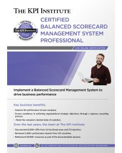 Live Online Certified BSC Professional