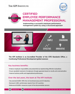 Certified Employee Performance Professional - Online Course