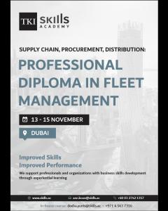 Professional Diploma in Fleet Management