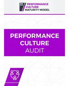Performance Culture Audit