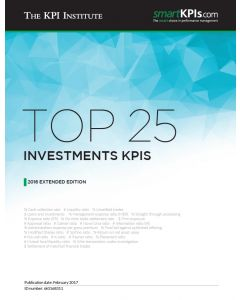 Top 25 Investments KPIs – 2016 Extended Edition