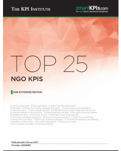 Top 25 NGO KPIs - 2016 Extended Edition