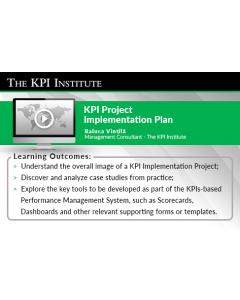 KPI Implementation Project Plan