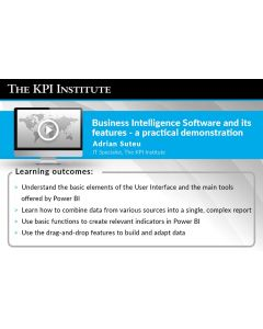Business Intelligence Software and its features - a practical demonstration