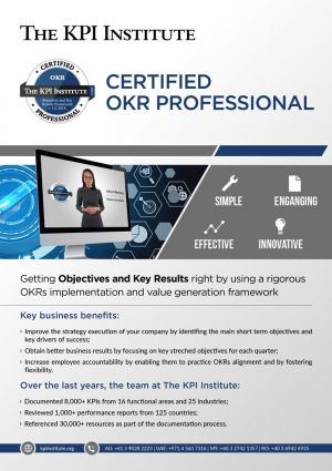 Certified OKR Professional - Online Course