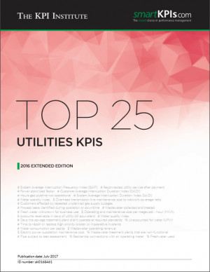 Top 25 Utilities KPIs - 2016 Extended Edition