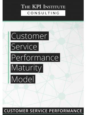 Customer Service Performance Maturity Model