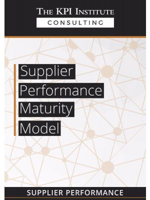 Supplier Performance Maturity Model