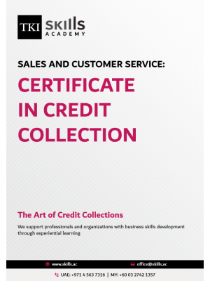 Certificate in Credit Collection