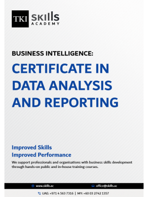 Certificate in Data Analysis and Reporting