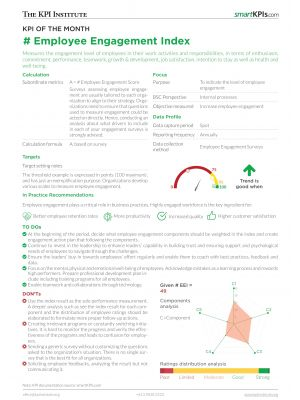 KPI of the Month: Employee Engagement Index