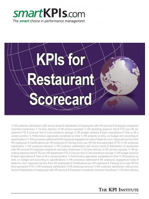 KPIs for Restaurant Scorecard
