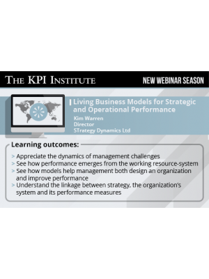 Living Business Models for Strategic and Operational Performance