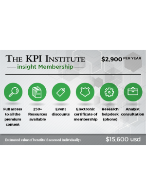 The KPI Institute insight Membership