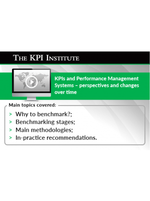 KPIs and Performance Management Systems – perspectives and changes over time