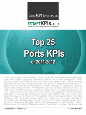 Top 25 Ports KPIs of 2011-2012