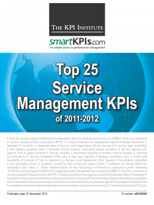 Top 25 Service Management 2011-2012