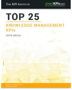 Top 25 Knowledge Management KPIs - 2018 Edition
