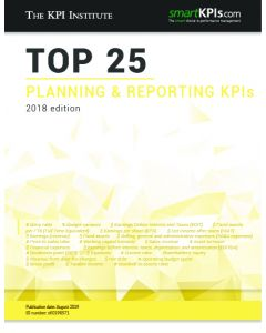 Top 25 Planning Reporting KPIs - 2018 Edition