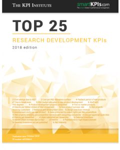 Top 25 Research Development KPIs - 2018 Edition